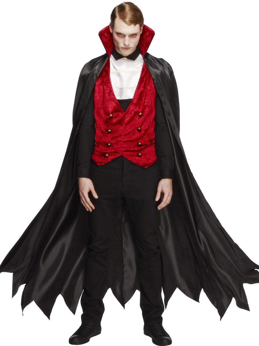 Сделать своими руками костюм вампир