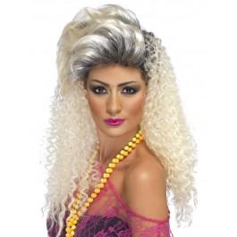 80s Bottle Blonde Wig (Fancy Dress)
