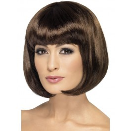 Dark Brown Partyrama Bob Wig