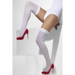 White Opaque Hold-Ups