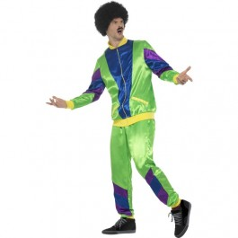 80s Height Of Fashion Tracksuit Mens (Fancy Dress)