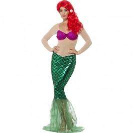Deluxe Sexy Mermaid Costume (Fancy Dress)