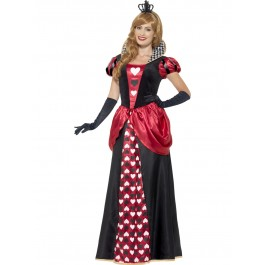 Royal Red Queen Costume - front view