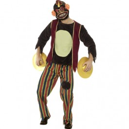 Deluxe Clapping Monkey Toy Costume (Fancy Dress)