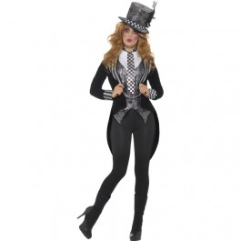 Deluxe Dark Miss Hatter Costume (Fancy Dress)