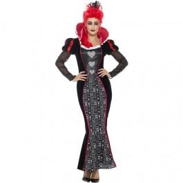 Deluxe Baroque Dark Queen Costume (Fancy Dress)