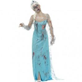 Zombie Froze to Death Costume (Fancy Dress)