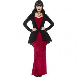 Deluxe Regal Vampiress Costume (Fancy Dress)
