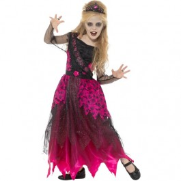 Deluxe Gothic Prom Queen Costume (Fancy Dress)