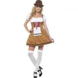 Bavarian Beer Maid Costume (Fancy Dress)