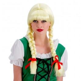 Oktoberfest Bavarian Beer Girl Wig