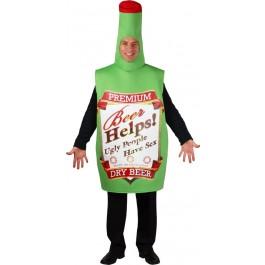 Funny Beer Bottle Adult Costume