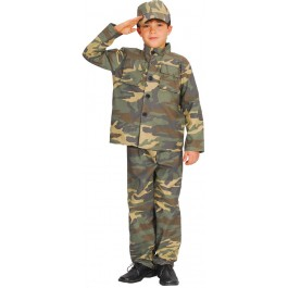 Boys Action Commando (Fancy Dress)