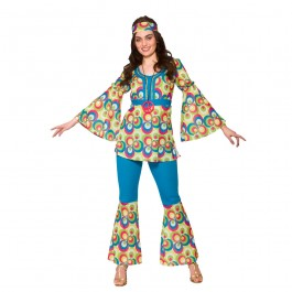 Funky Hippy Chick (Fancy Dress)