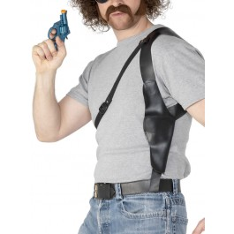 GANGSTER GUN HOLSTER FANCY DRESS