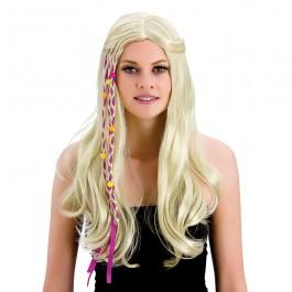 Groovy Hippie Wig Blonde