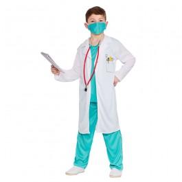 Child Hospital Scrubs Doctor Costume