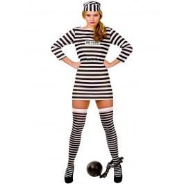 Jailbird Cutie - Budget (Fancy Dress)
