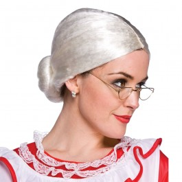 Mrs Clause Wig (Fancy Dress)