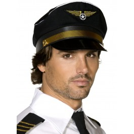 PILOTS CAP MENS FANCY DRESS
