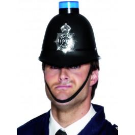 POLICE HELMET WITH SIREN
