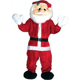 Giant Deluxe Santa Mascot (Fancy Dress)