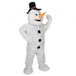 Deluxe Snowman Mascot (Fancy Dress)