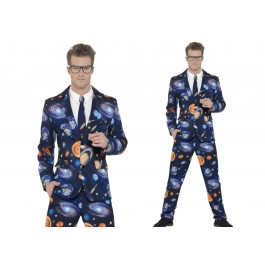 Space Suit Trousers Jacket Tie (Fancy Dress)