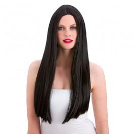 Classic Long Black Wig