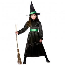 Girls Wicked Witch Fancy Dress