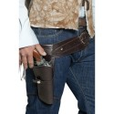 Authentic Western Wandering Gunman Belt & Holster