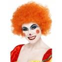 Crazy Clown Afro Orange