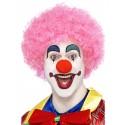 Crazy Clown Wig Pink