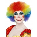 Crazy Clown Multi Afro Wig