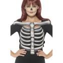 Skeleton Rib Cage Top, Unisex