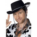 Cowboy Hat, Flocked Plastic