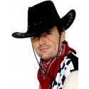 Suede Look Cowboy Hat