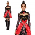 Fever Queen Of Hearts Costume, with Dress