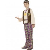 60s Hippie Boy Costume (Fancy Dress)