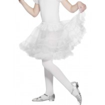 CHILDRENS PETTICOAT WHITE (Fancy Dress)