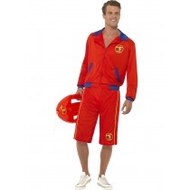 Baywatch Mens Lifeguard Costume