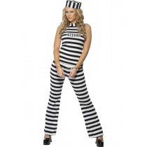 Convict Cutie (Fancy Dress)