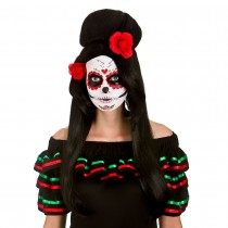 Day of The Dead Darling Wig