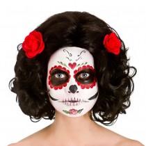 Day of the Dead Senorita Wig **NEW**