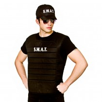 S.W.A.T. Vest and Hat Adult