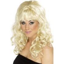 1960s Blonde Beehive Wig