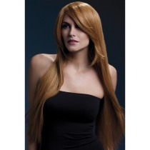 AMBER LADIES STRAIGHT FEATHERD AUBURN WIG 28""""