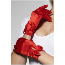 Gloves Short Red