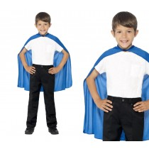 Blue Child Super Hero Cape