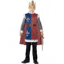 Child King Arthur Medieval Costume